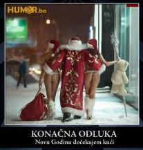 Djeda Mraze, skrenuo si sa staze