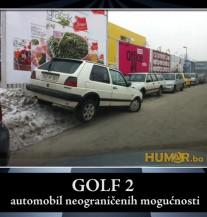 Idealno parkiranje: Bosanac i golf 2