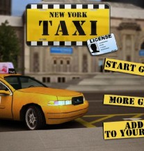 Igrica: New York TAXI