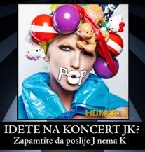 Idete na koncert Jelene Karleuše?