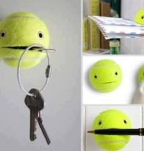 Kako kreativno iskoristiti tenisku lopticu?