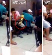 Malo joj jedan: Dok se ljubi s dečkom, djevojka dira drugog mladića po… (VIDEO)