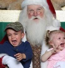 Na jednom mjestu: Svi klinci koji ne vole Djed Mraza! (FOTO)