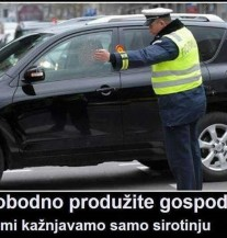 Tajna kako se ne bojati saobraćajne policije (POSTER)