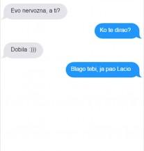 SMS DANA: Kad djevojka skonta da joj je momak glup! (POSTER)